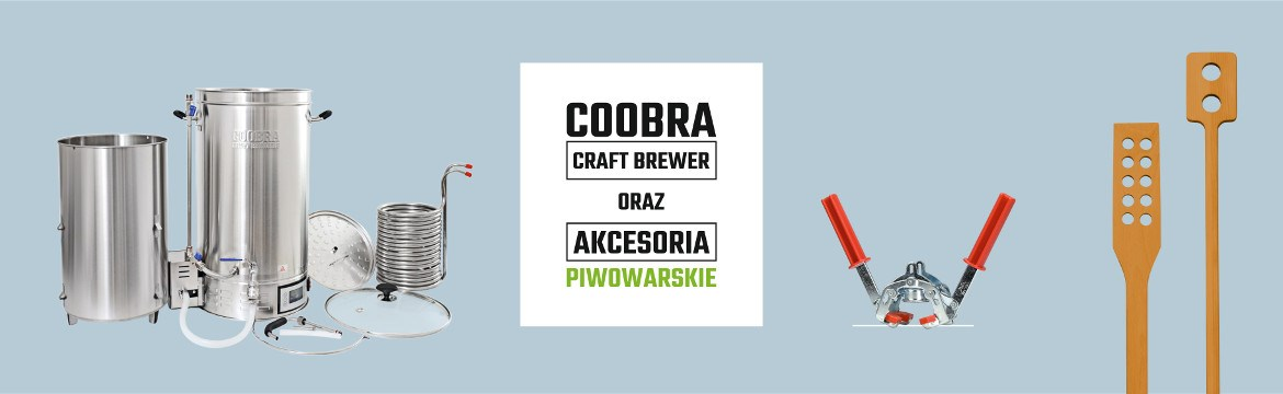 Coobra Craft Brewer, Akcesoria Piwowarskie
